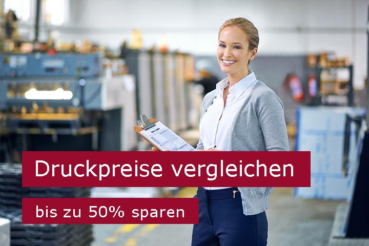 Druckerei-Preisvergleich - bis zu 50% sparen. Günstiger drucken durch Druckerei-Vergleich und günstige Druckpreise sichern.